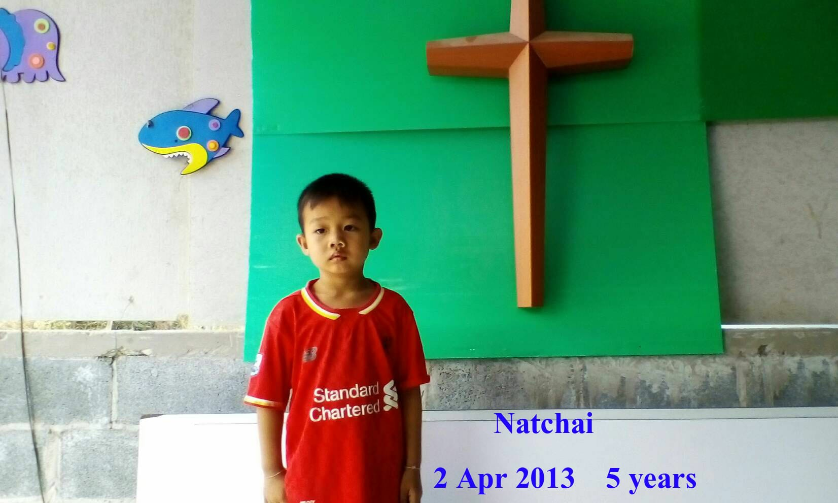 Natchai (5 years old, boy)