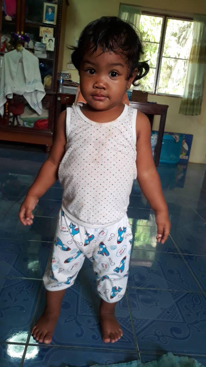 Punyavee Junson (Pim Pim) (1 year old, girl)