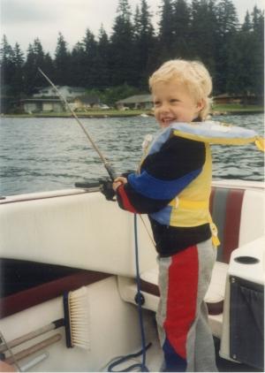 Chef Cody Beverstock Fishing As A Boy