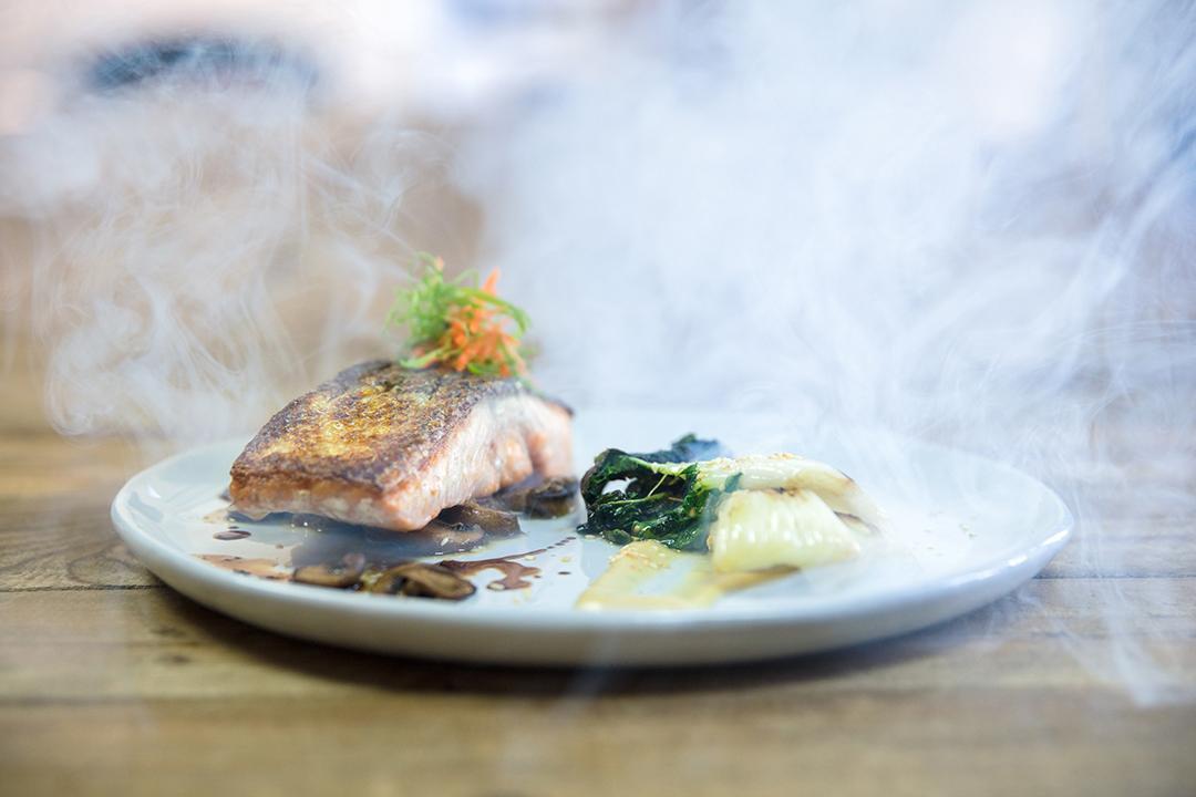 Chef Cody Beverstock I CB Cuisine I Applewood-Smoked Salmon