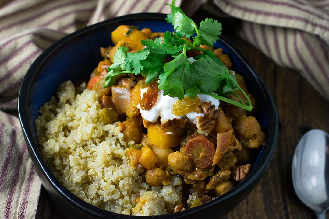 Chef Cody Beverstock, CB Cuisine, Moroccan Vegetable Stew Recipe