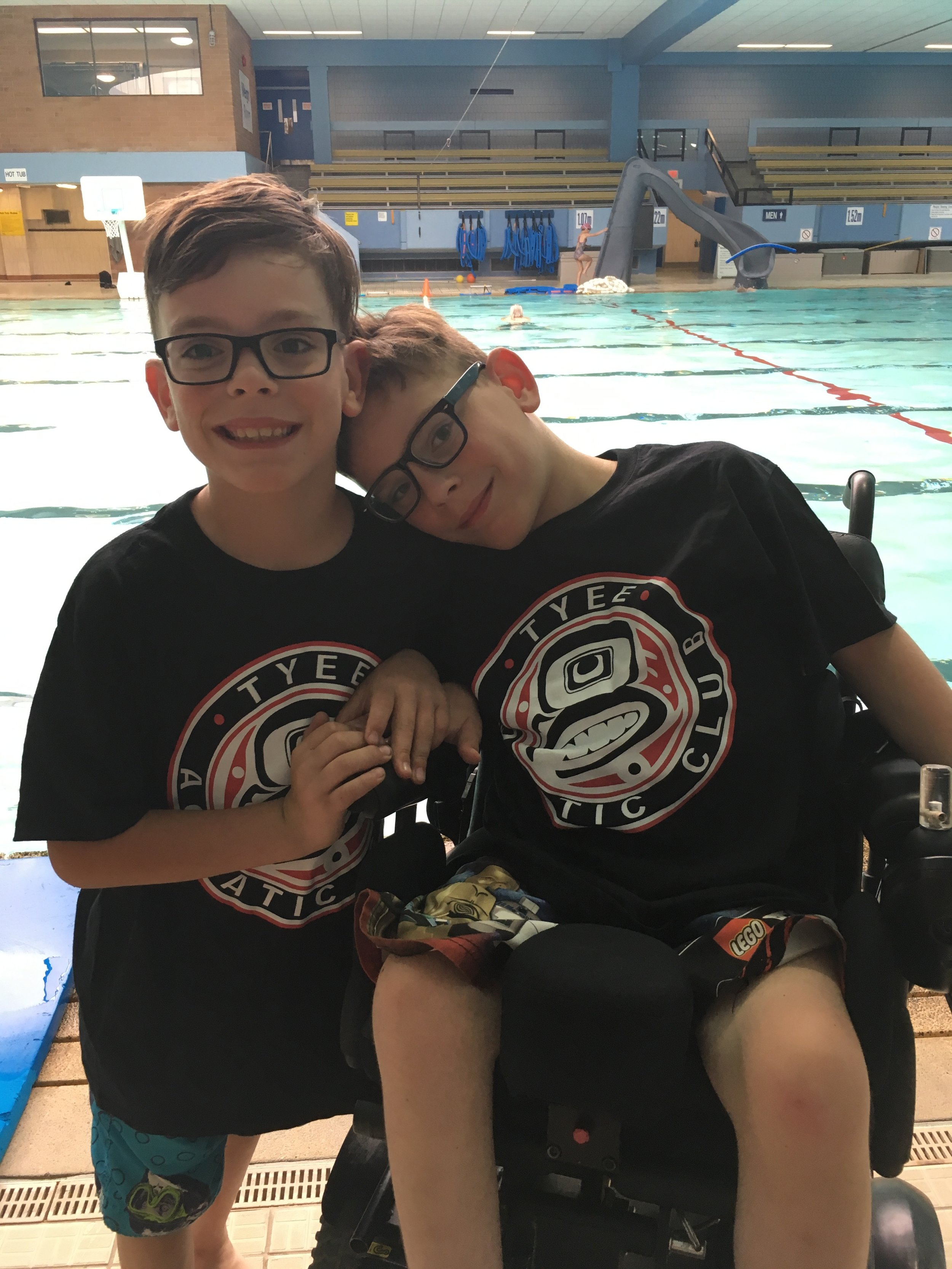 Thank you Jumpstart! - Tyee Aquatic Club is proud to have received Jumpstart's Parasport Fund for the 2018/2019 Season. With the help of this fund we are able to provide one on one private lessons for children with impairments and help them realize their potential in the water.
