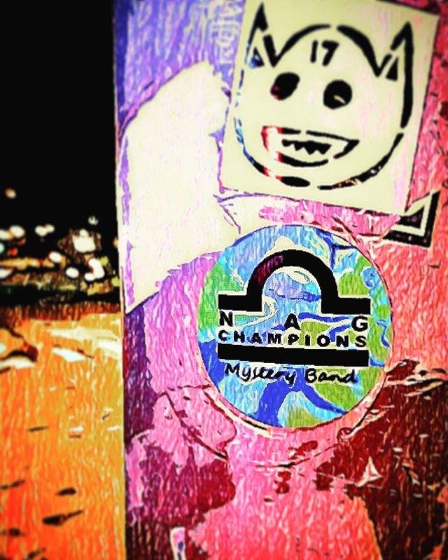 #stickersiting #NagChampions #streetpole
