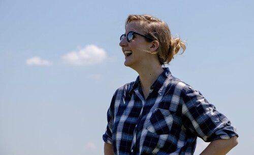 Sarah Mock reporting on rural America