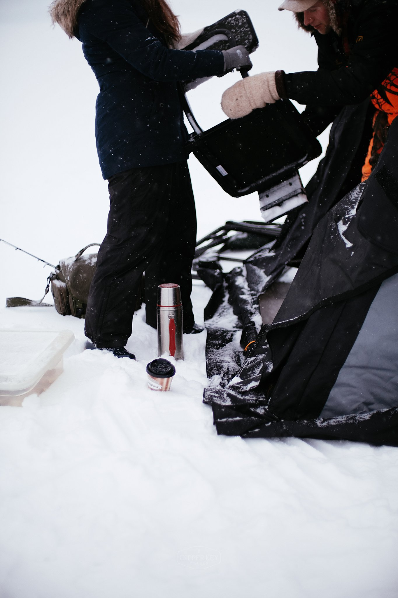Copper Key Visuals Wisconsin Ice Fishing Engagement Session-1.jpg