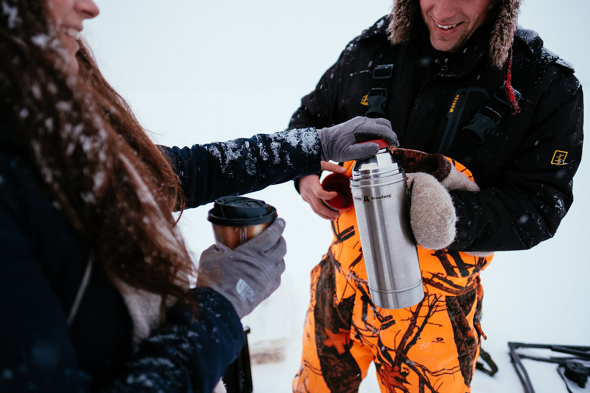 Copper Key Visuals Wisconsin Ice Fishing Engagement Session-5.jpg