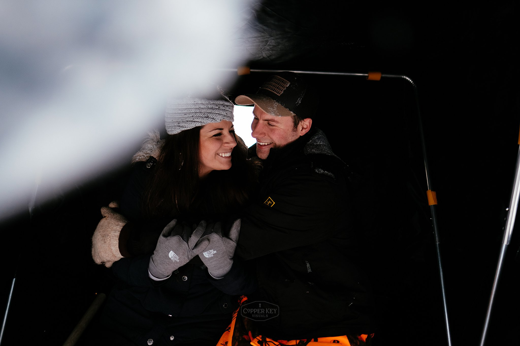 Copper Key Visuals Wisconsin Ice Fishing Engagement Session-9.jpg
