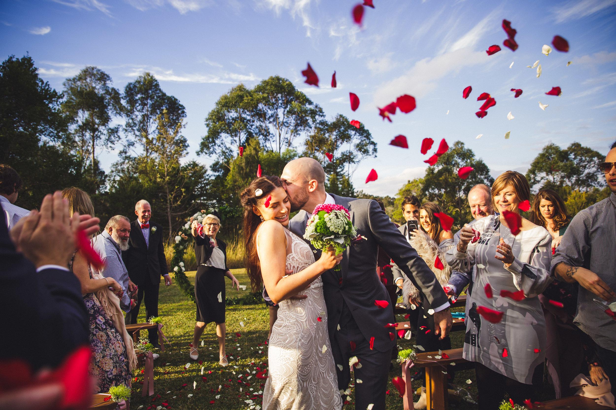 Oceanview Estates Wedding Photograph