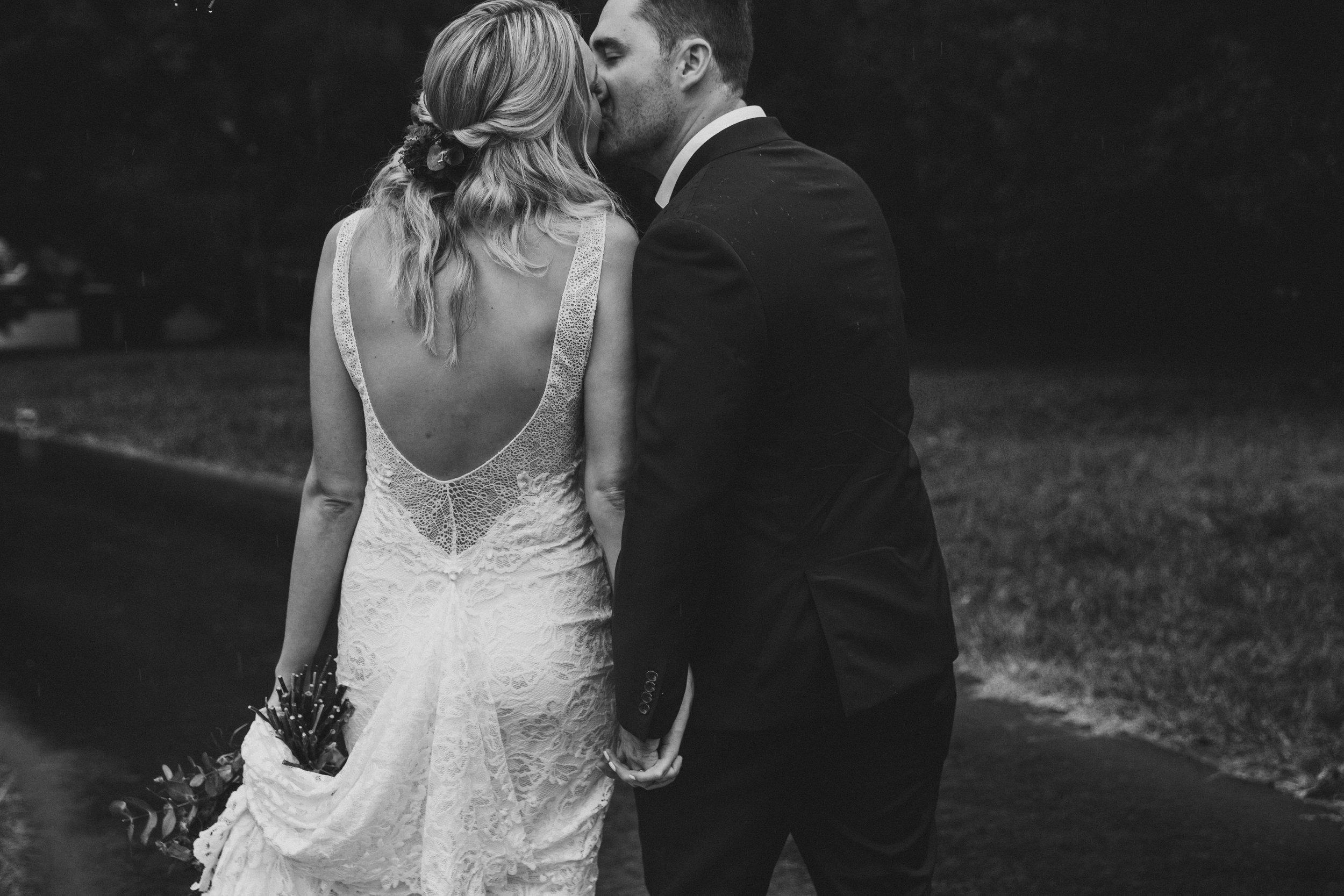 Bride and Groom at Bundaleer