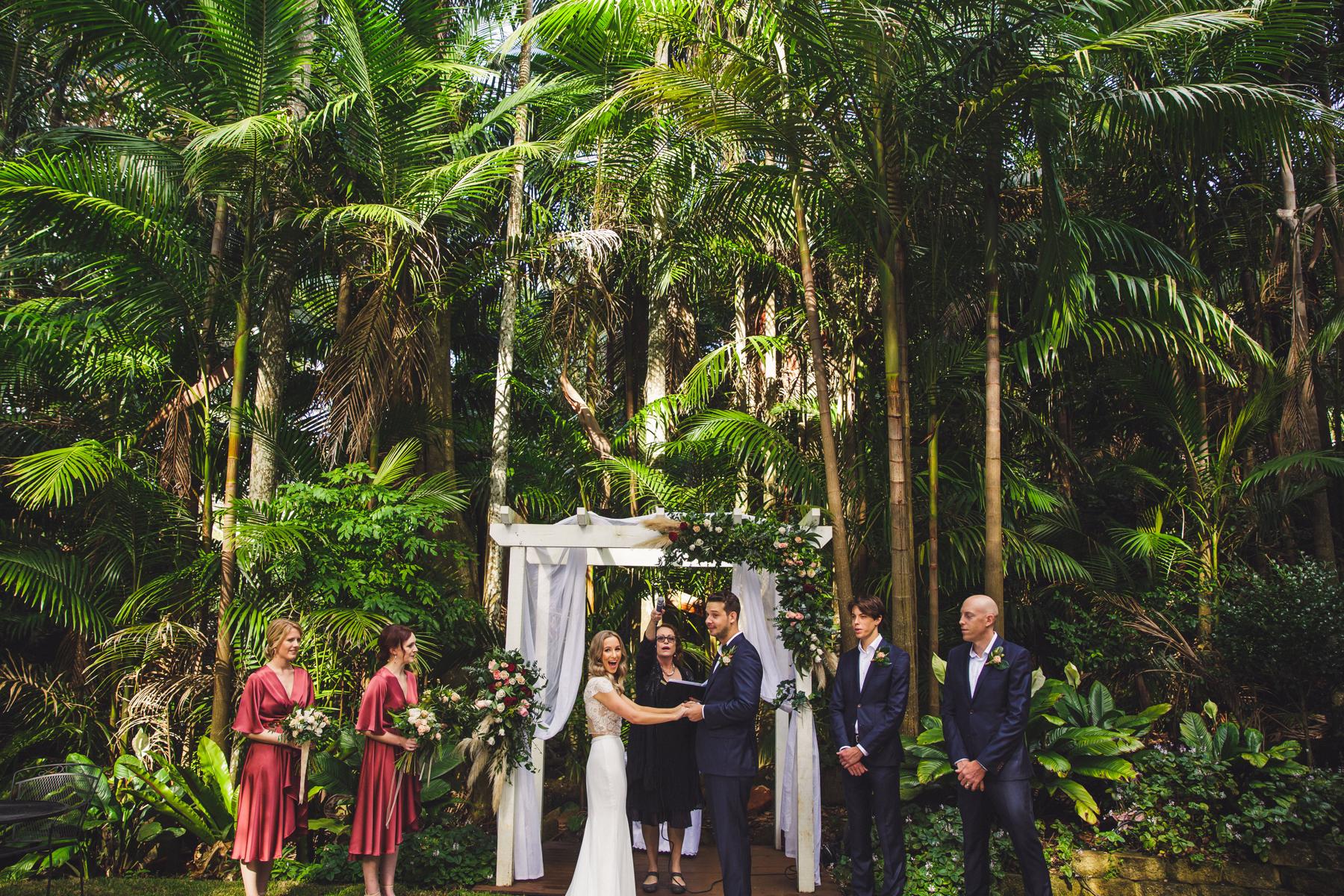 Mount Tamborine Wedding Ceremony