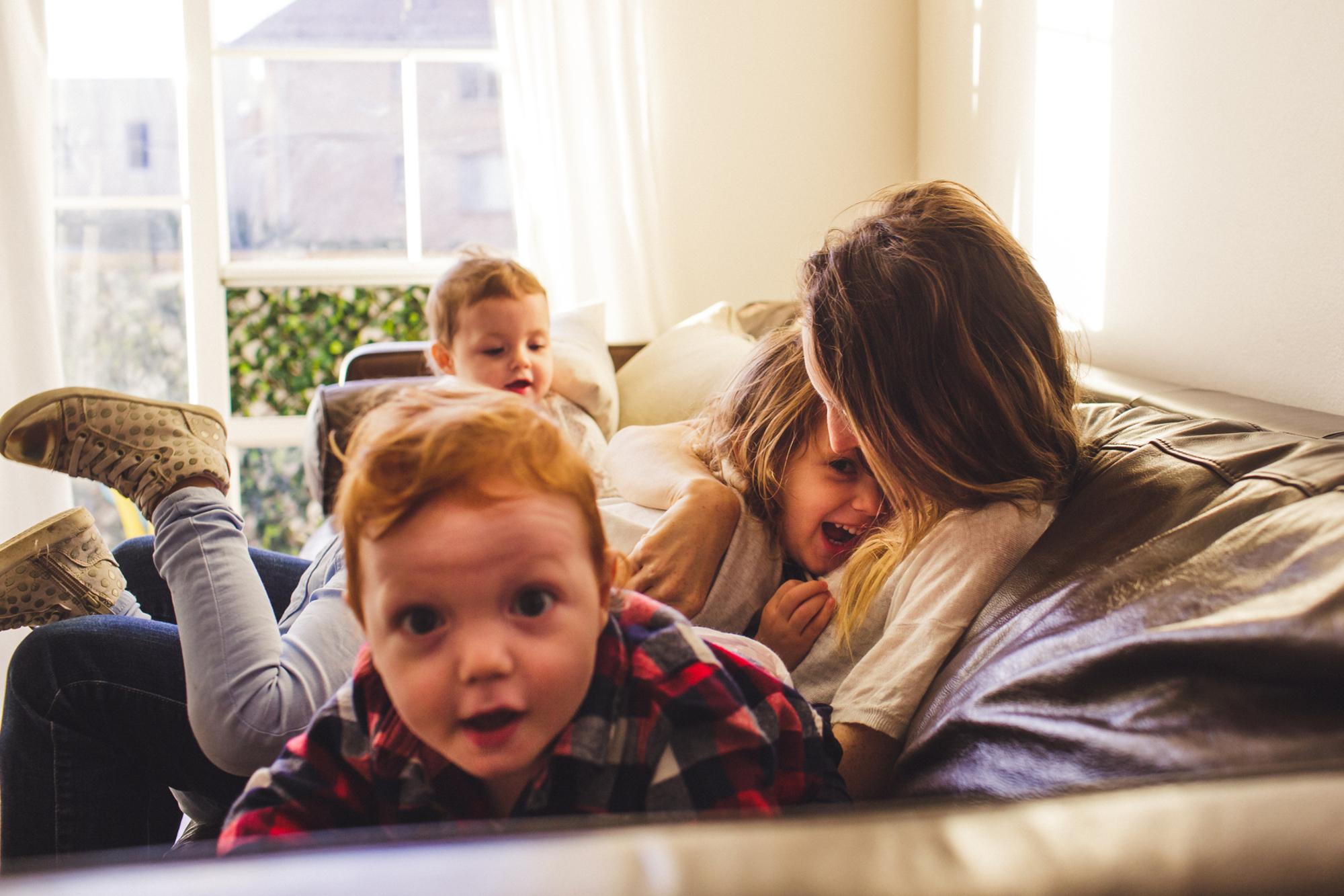 Authentic Family Photo