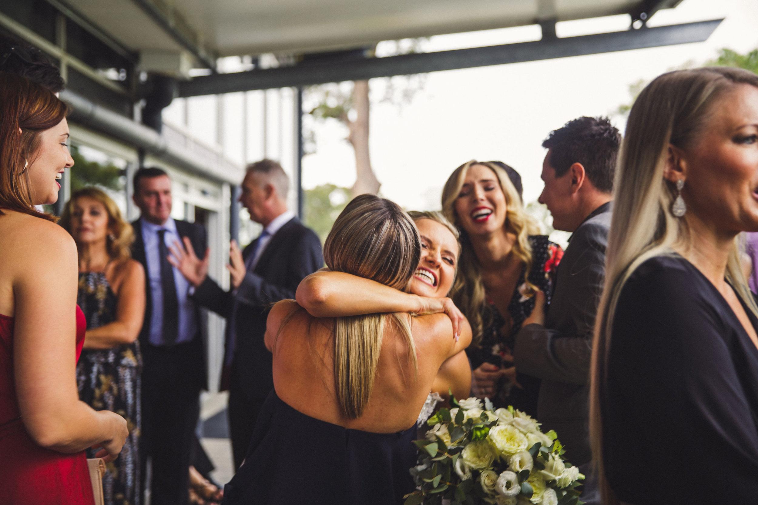 Congratulations Candid Wedding Photo