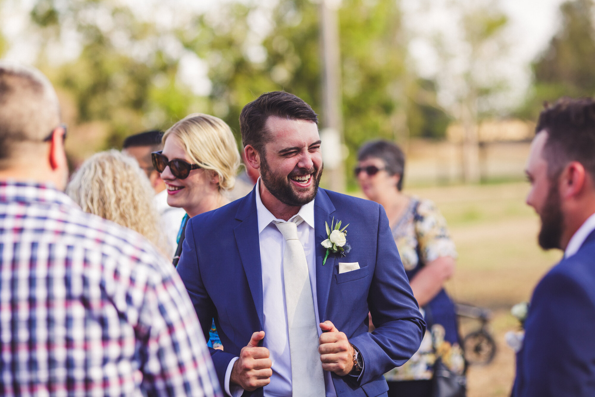 Natural Wedding Photo