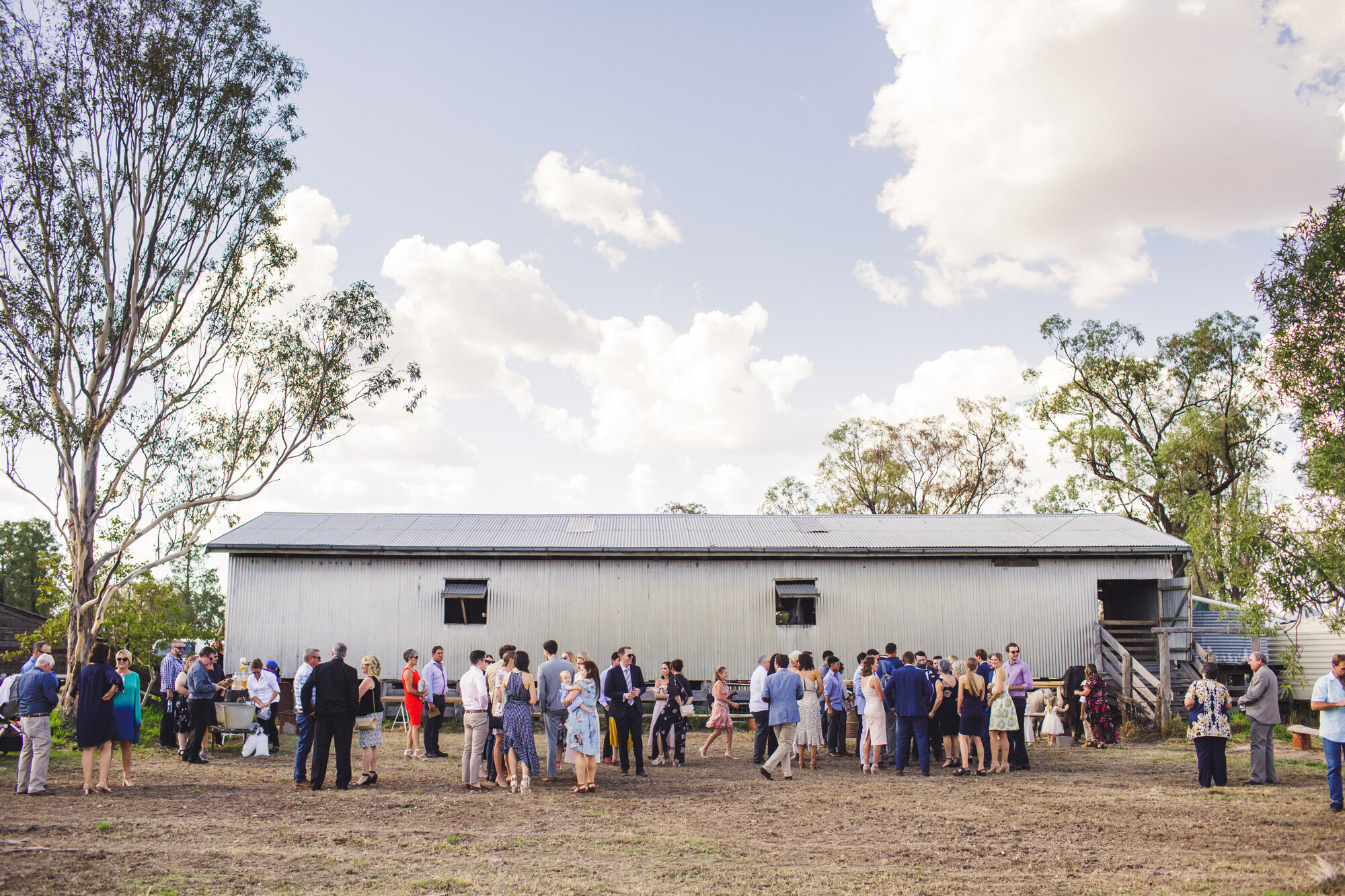 Sheering Shed Wedding