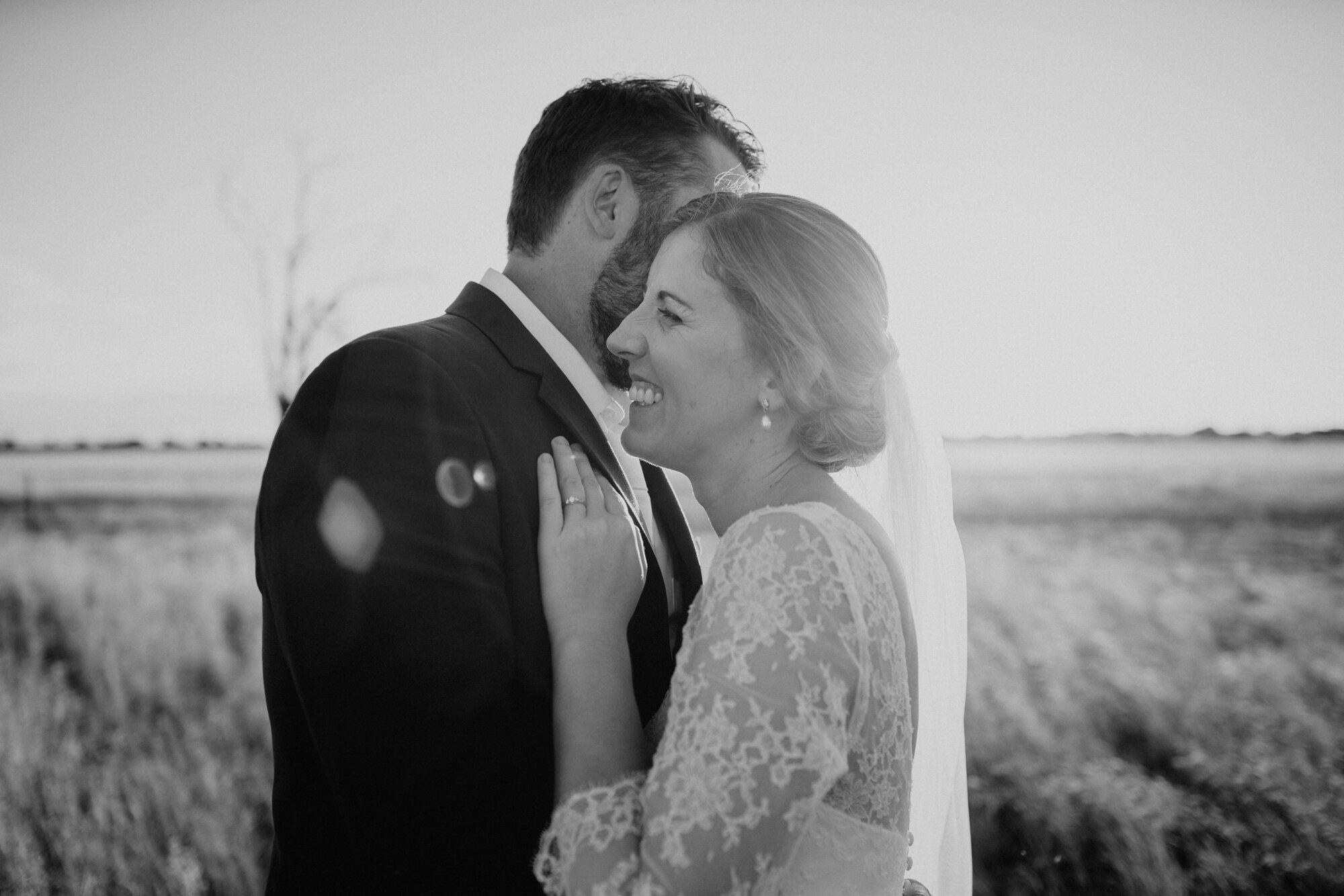 Fun Wedding Photo
