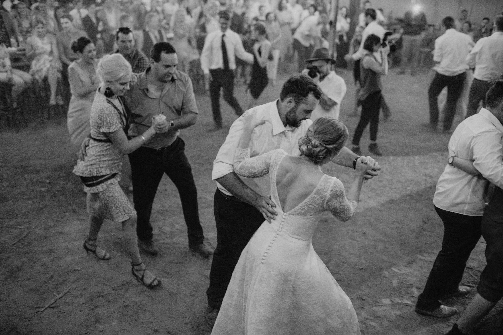 First dance barn dance