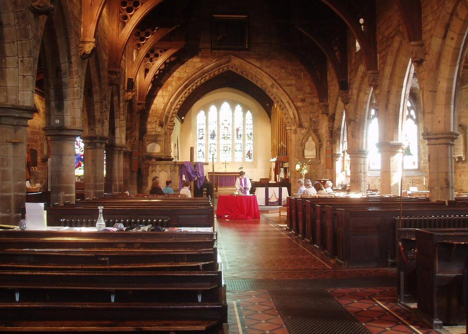 Inside St. Nicolas Church
