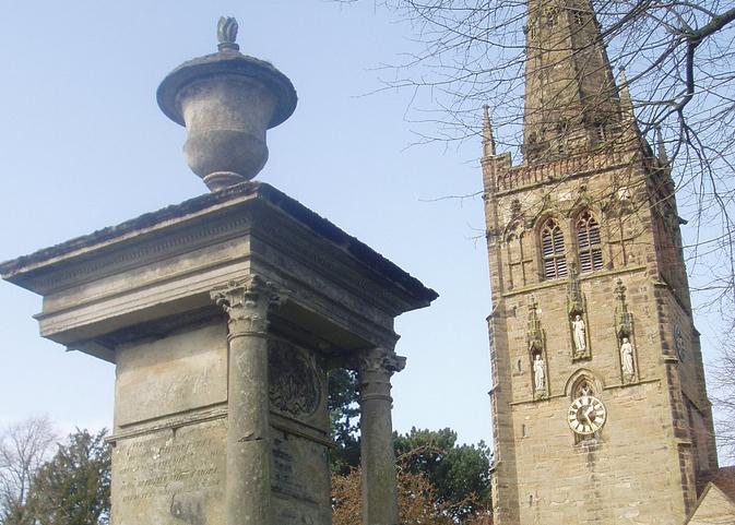 Form the Church gate