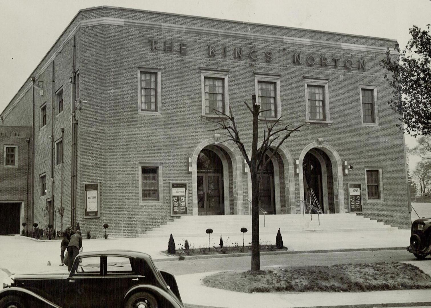 The old cinema, C. 1938