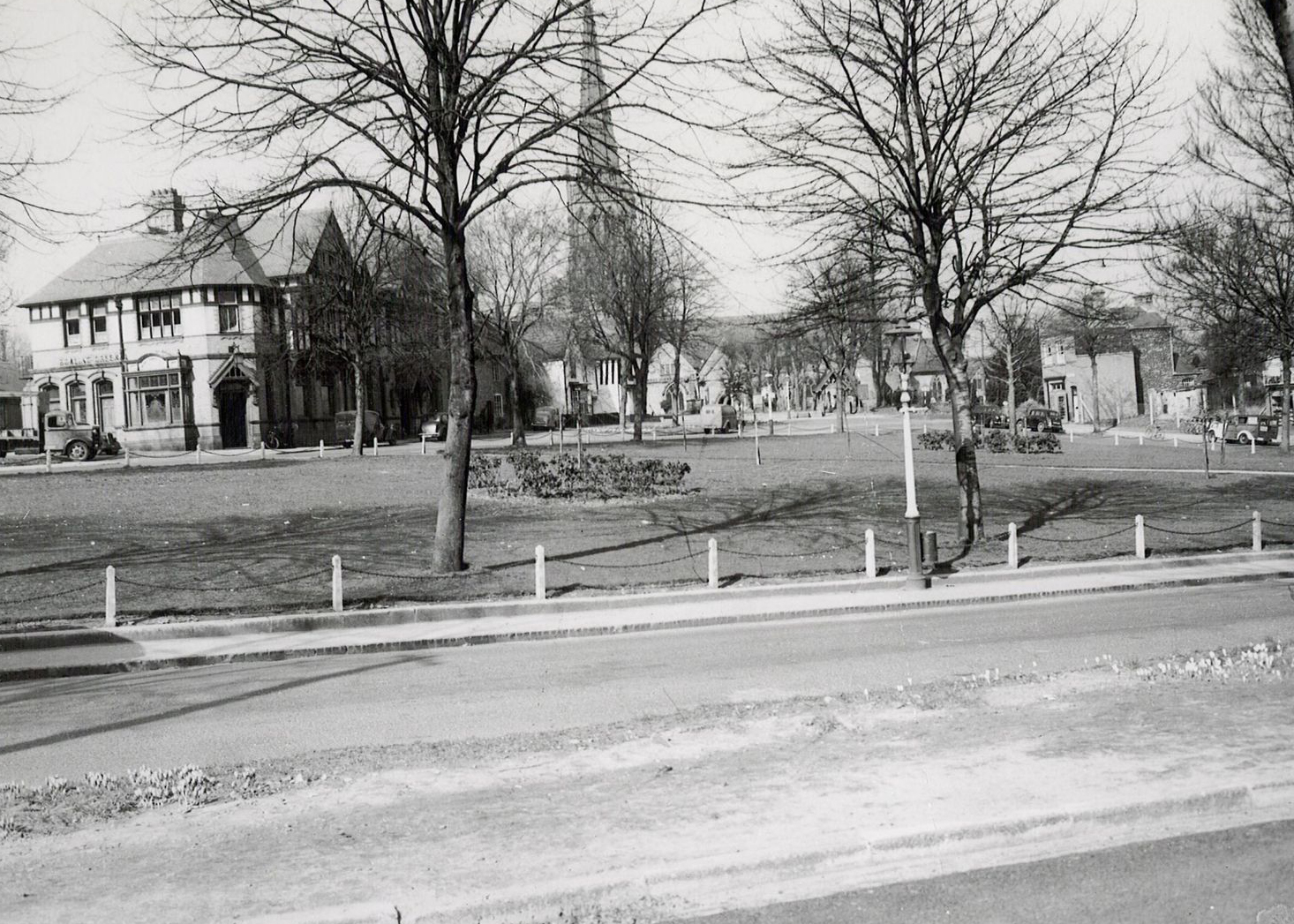 View across the Green C. 1940's