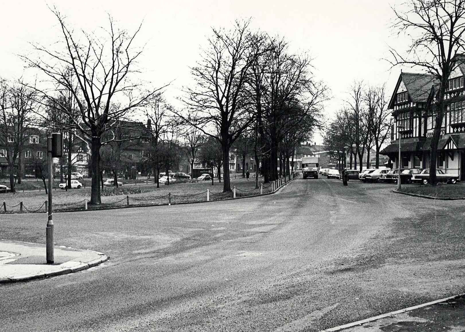 Towards the Bull, C. 1971