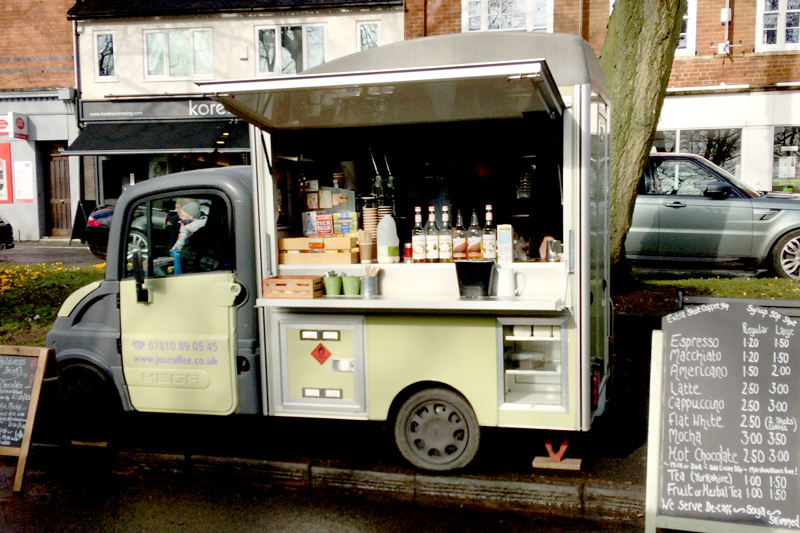 Jo's Coffee - Mobile coffee van..