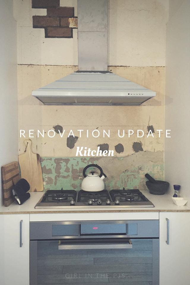 Renovation Update Kitchen