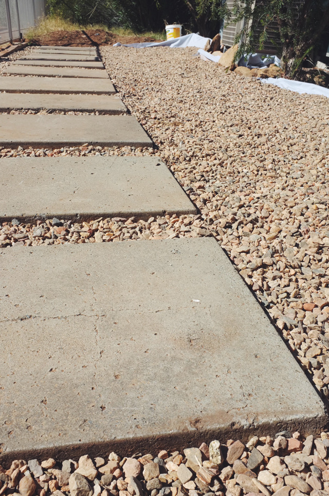 Backyard Paving DIY