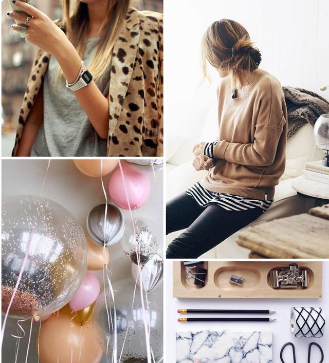 Girl in the Pjs - Autumn Mood Board
