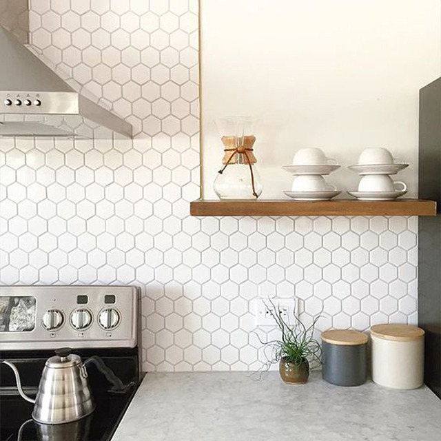 white hexagon -  annabode