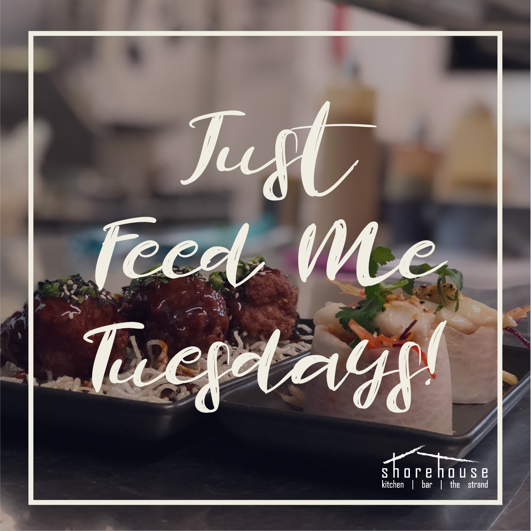Tuesdays make for easy decisions! $40pp amazing set menu, and nothing else!