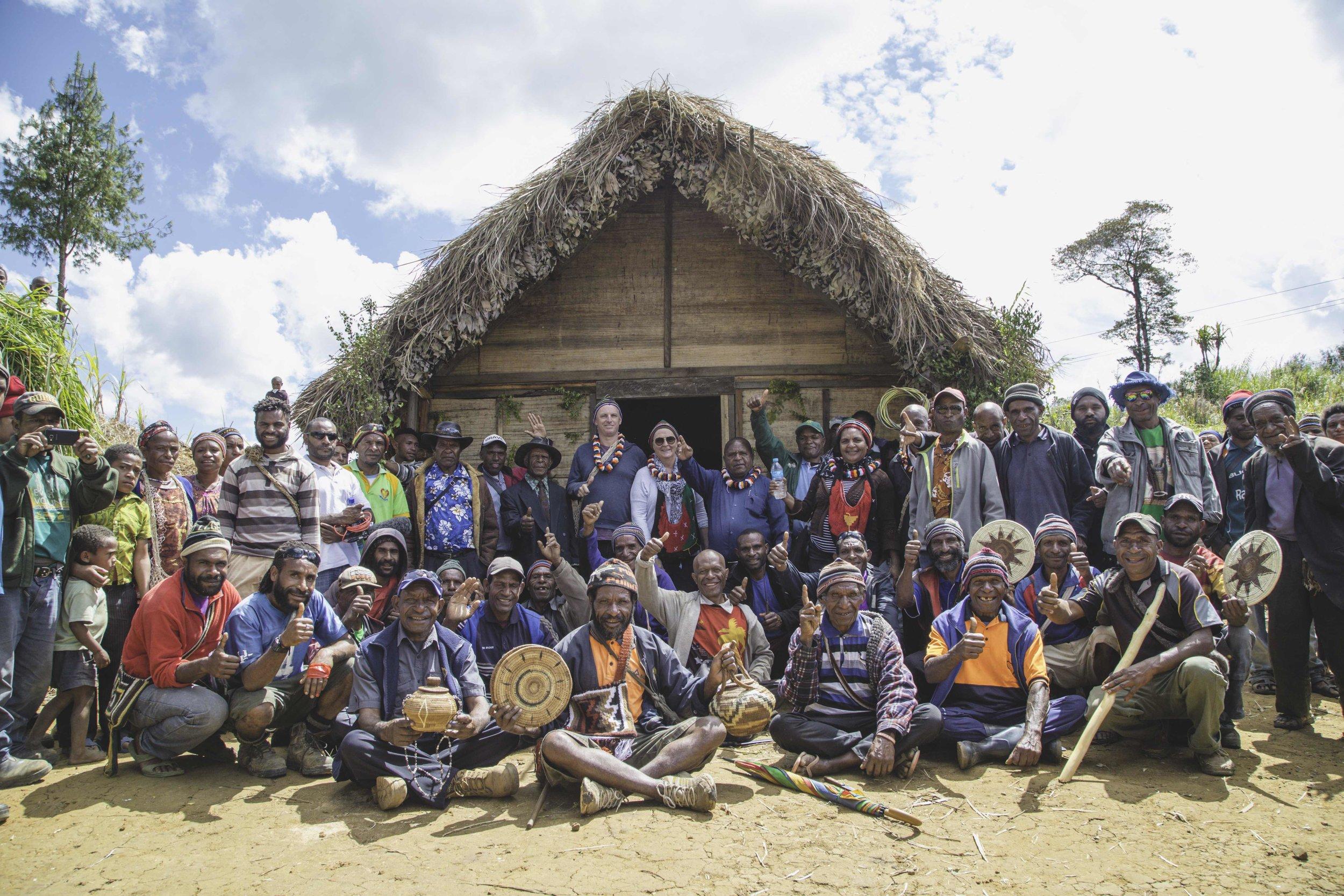 Ialibu community, Papua New Guinea. Image Credit: Alec Bruce-Mason.