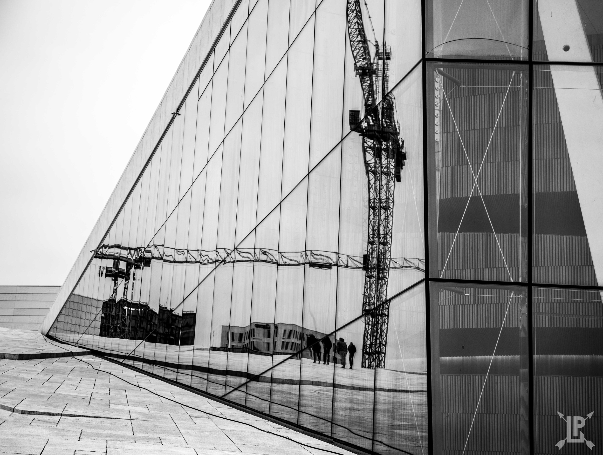 If you want to master urban photography, start with finding new angles.  Oslo, Norway. Canon 5D Mark IV.
