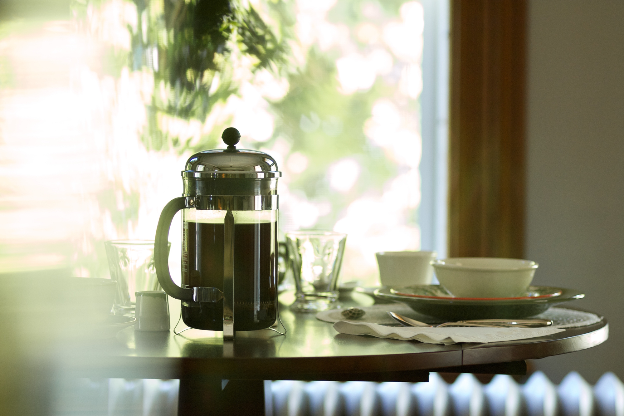 Fordham House breakfast table.jpg