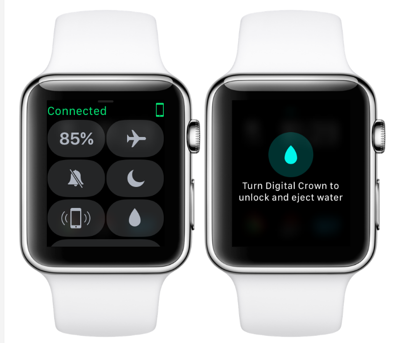 Credit goes to iDB for this image and you can read more about how to care for your Apple watch  here .