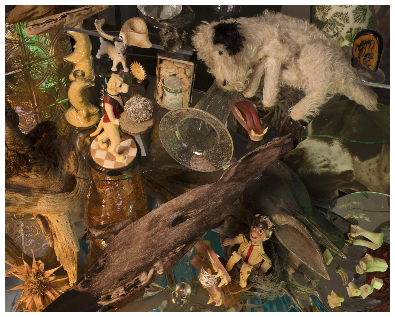 """Betwixt the Waning and Waxing Moon: Séance """"Dead Puppy to Holbein the Younger"""". Sublime! , 2019"""