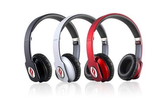 Noontec Zoro HD in 3 different color options - Black, Red, Silver.