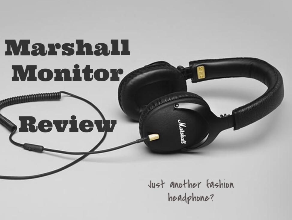 Marshall Monitor Headphone Review