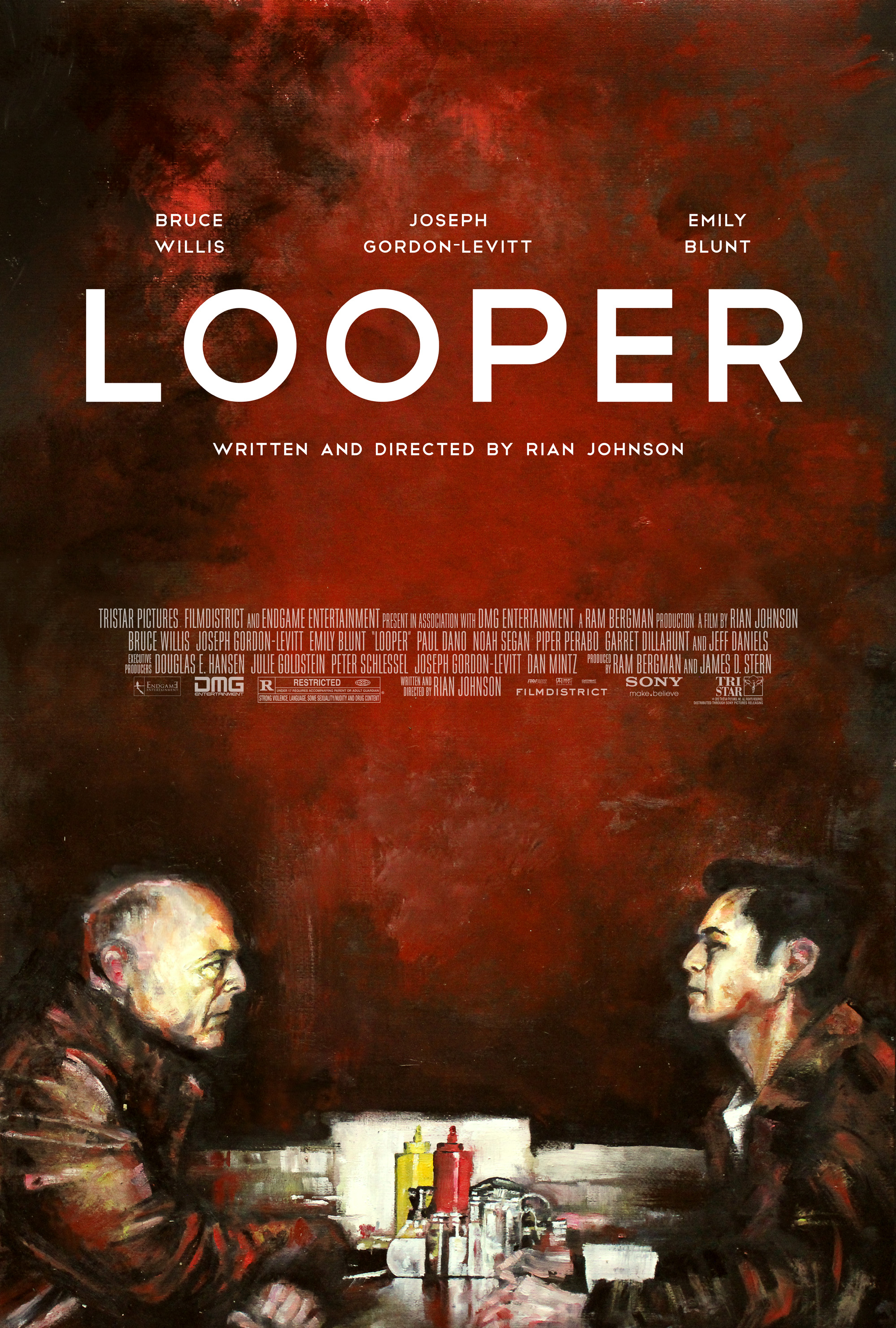 Looper Poster by Zachary Johnson
