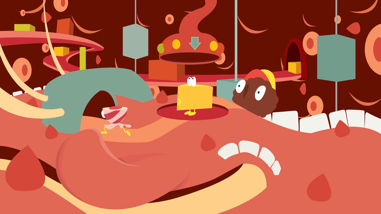 WIP Illustration von Elisabeth Deim - Es liegt mir auf der Zunge