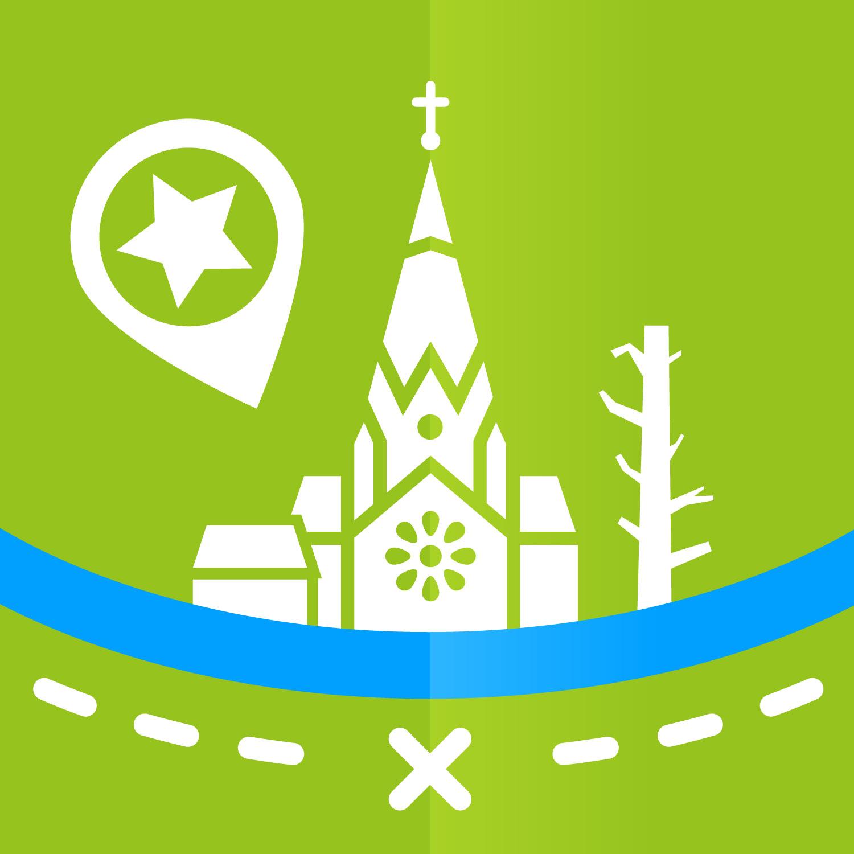 Entwurf des App Icon zur Riesa App von Elisabeth Deim
