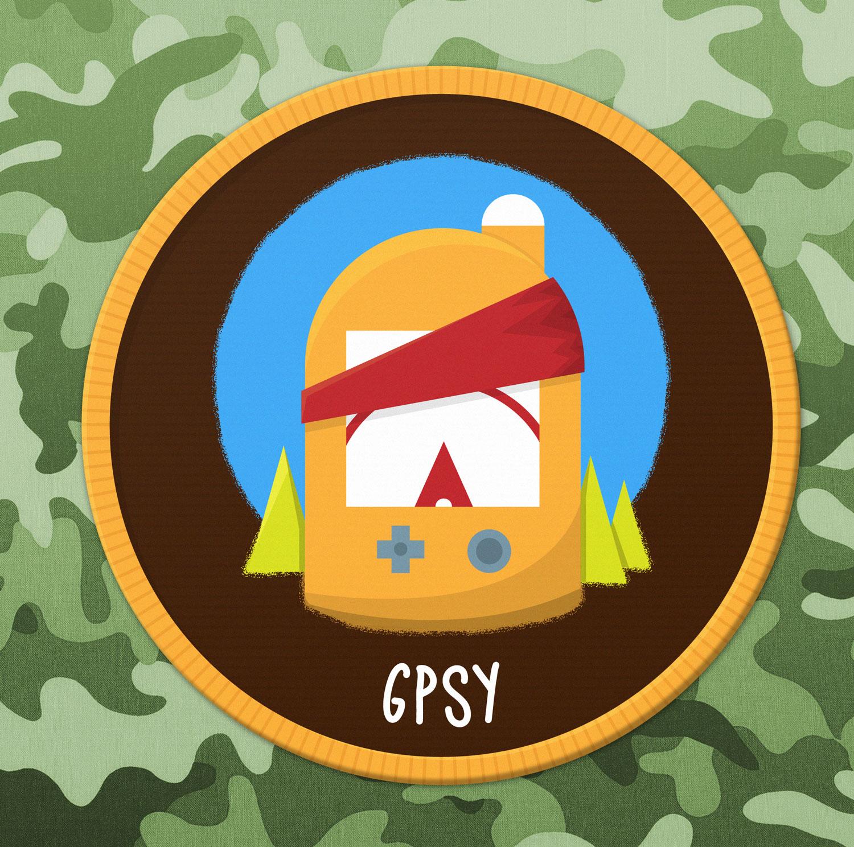 Abzeichen / Badge Outdoor GPS - Elisabeth Deim