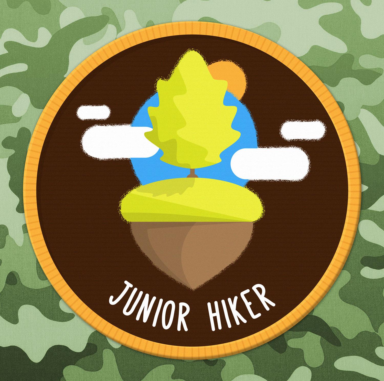 Abzeichen / Badge Outdoor Junior - Elisabeth Deim