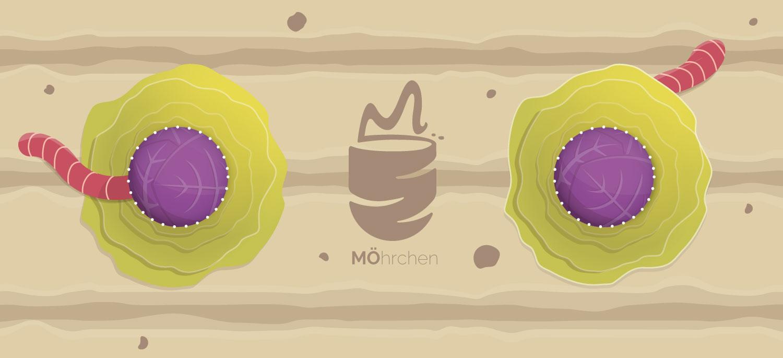 Gartenbeet als Illustration für Packaging Design / Elisabeth Deim