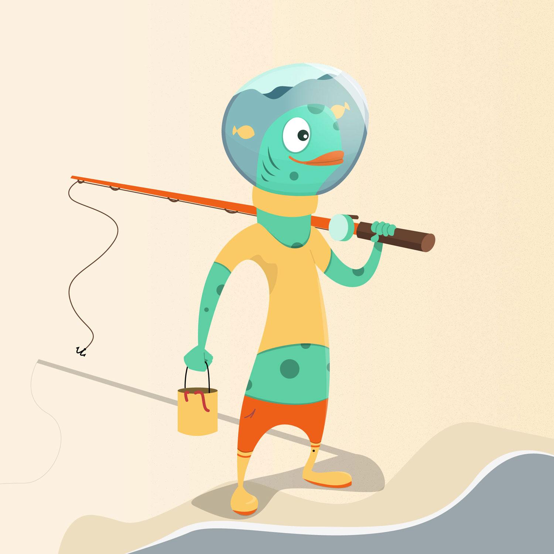 12 - Merfolk - Character Design von Elisabeth Deim