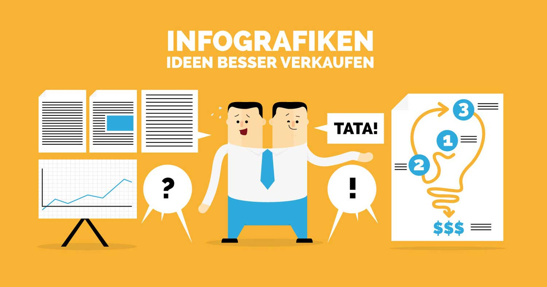 Werbeillustration von Anzeigen und Bannern von Elisabeth Deim