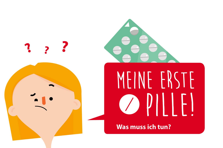 Social Media Grafik Pille vergessen von Elisabeth Deim