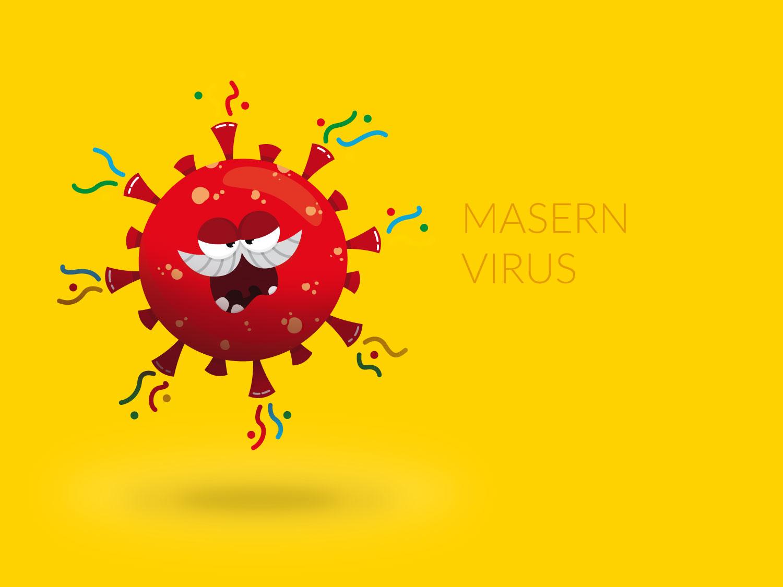 Character Design - Masern-Virus- Elisabeth Deim