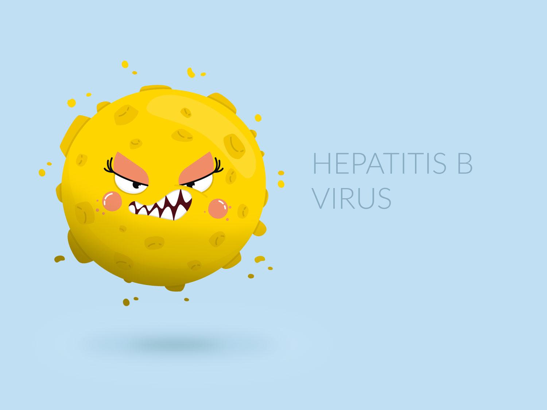 Character Design - Hepatitis-B-Virus - Elisabeth Deim