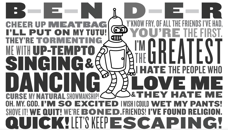 Bender Bending Rodriguez — Purée Fantastico